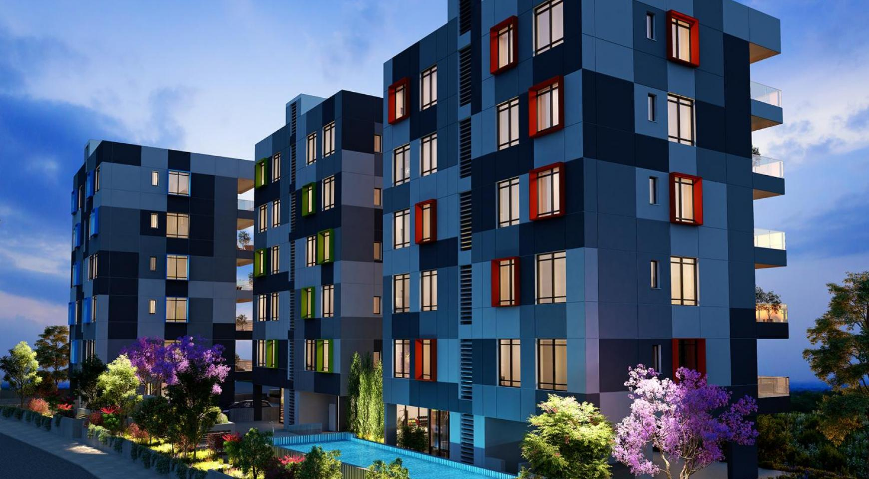 Urban City Residences, Block B. New Spacious 2 Bedroom Apartment 302 in the City Centre - 19