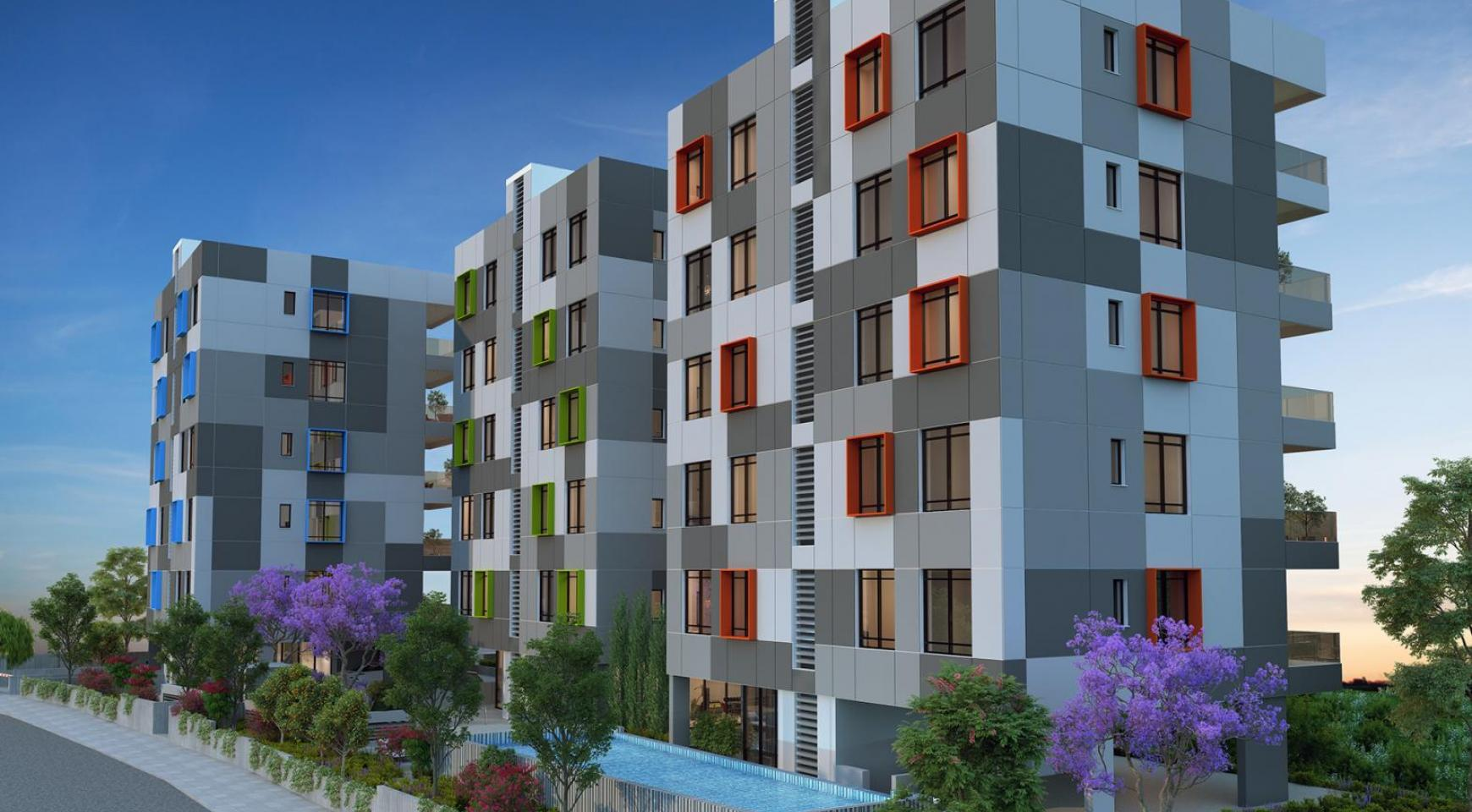 Urban City Residences, Block B. New Spacious 2 Bedroom Apartment 302 in the City Centre - 20