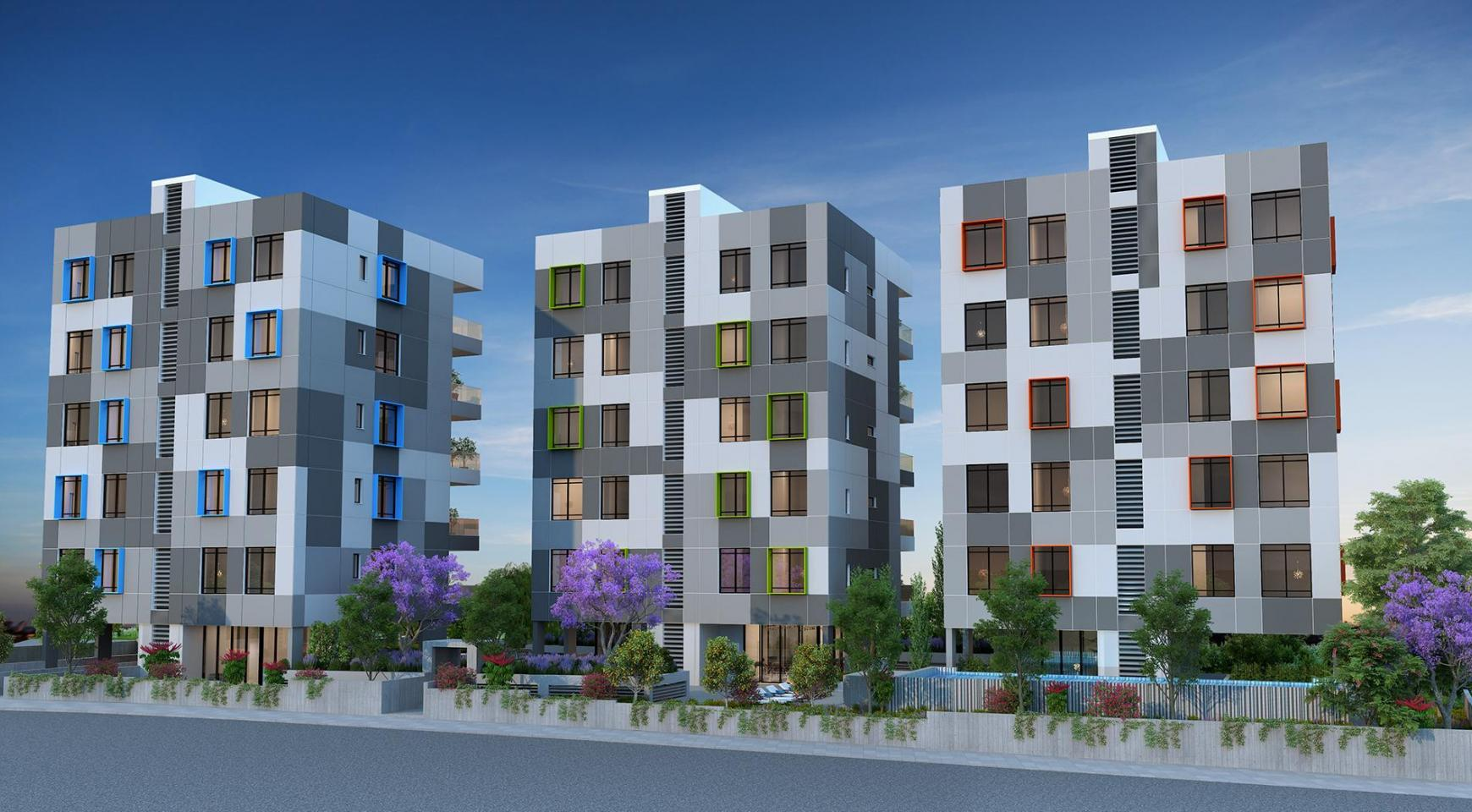 Urban City Residences, Block B. New Spacious 2 Bedroom Apartment 302 in the City Centre - 23