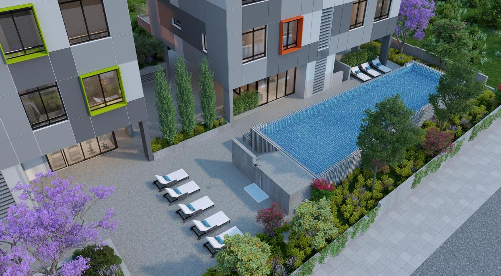 Urban City Residences, Block B. New Spacious 2 Bedroom Apartment 302 in the City Centre - 26