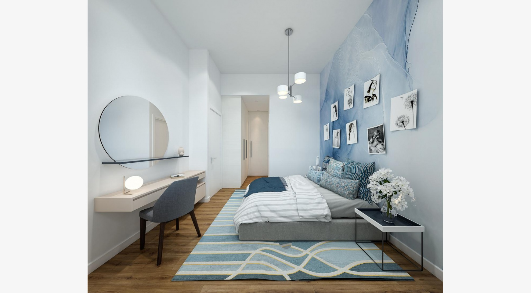 Urban City Residences, Block B. New Spacious 2 Bedroom Apartment 302 in the City Centre - 11