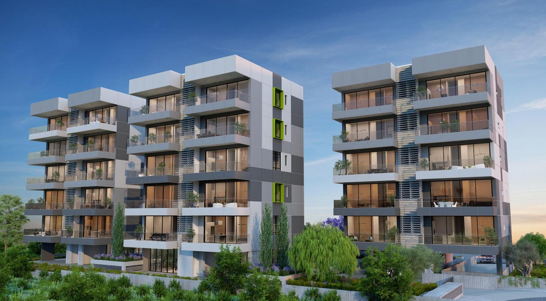 Urban City Residences, Block B. New Spacious 2 Bedroom Apartment 302 in the City Centre - 21