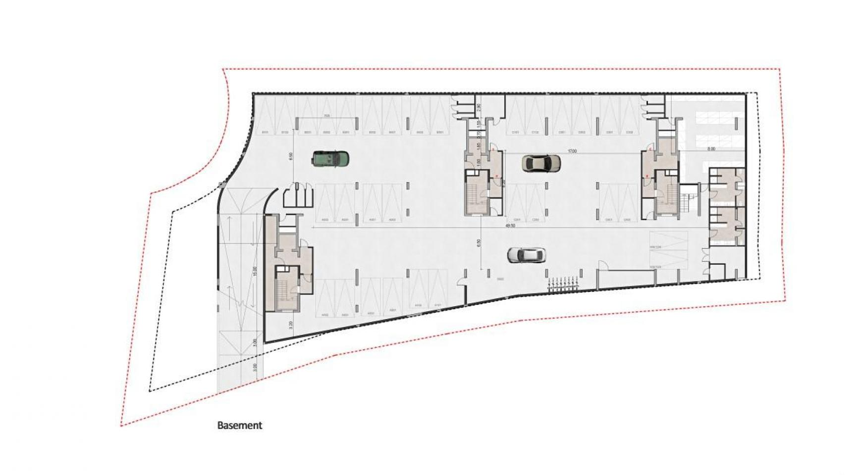 Urban City Residences, Apt. B 401. 3 Bedroom Apartment within a New Complex in the City Centre - 44