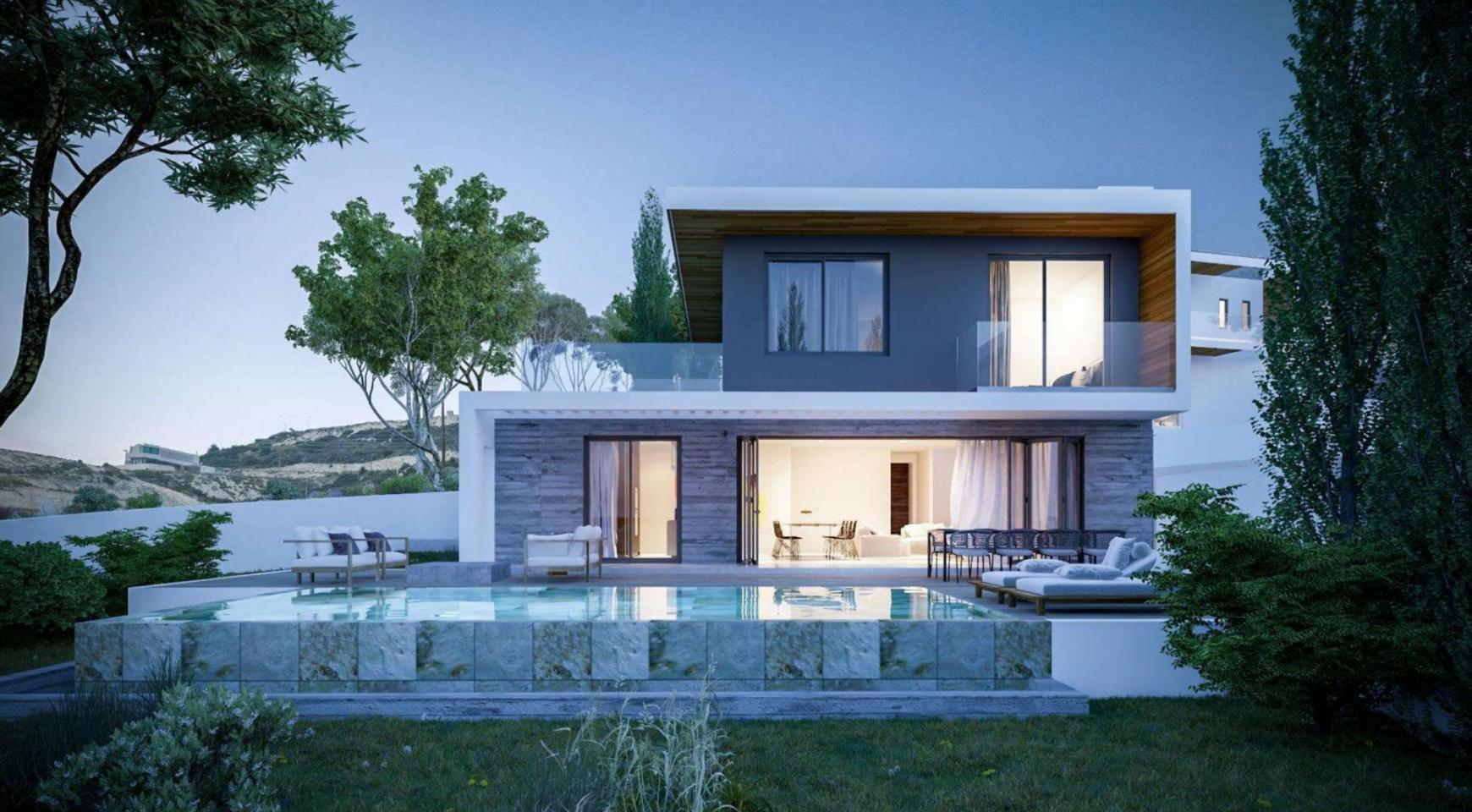 4 Bedroom Villa within a New Project in Agios Tychonas Area - 1