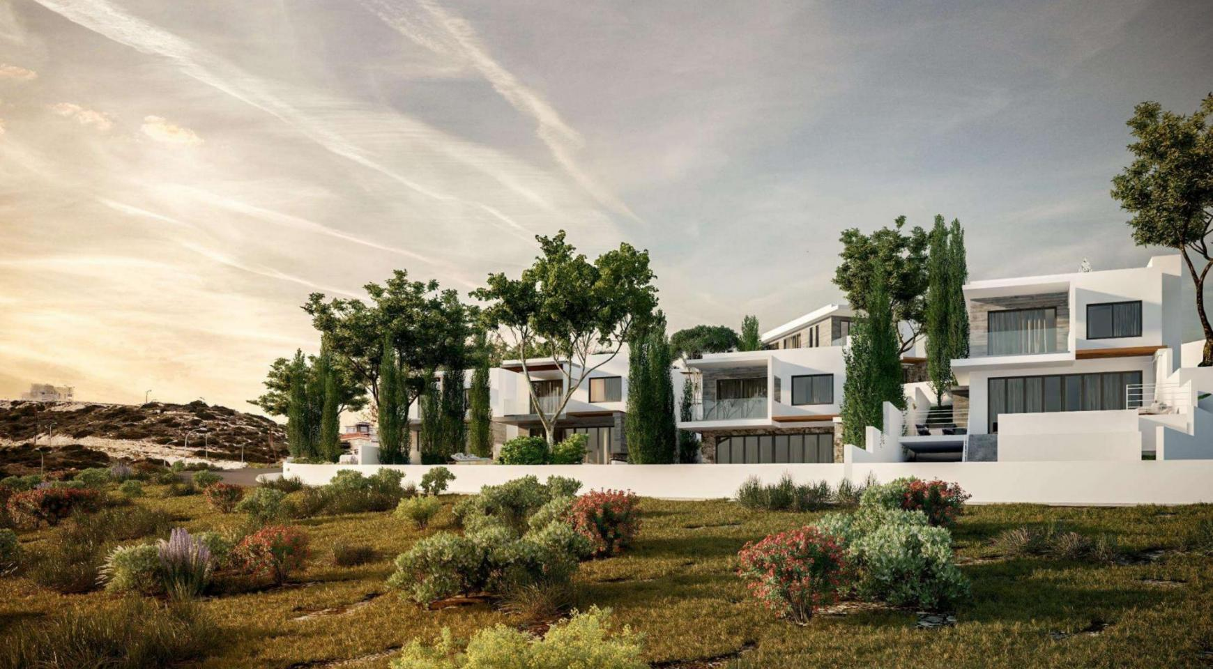 Luxurious 3 Bedroom Villa in a New Project in Agios Tychonas - 8