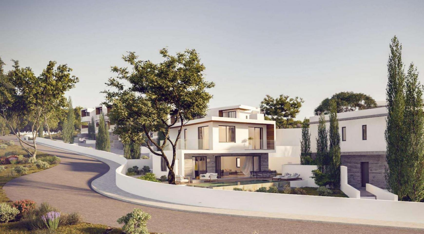 Luxurious 3 Bedroom Villa in a New Complex in Agios Tychonas Area - 10