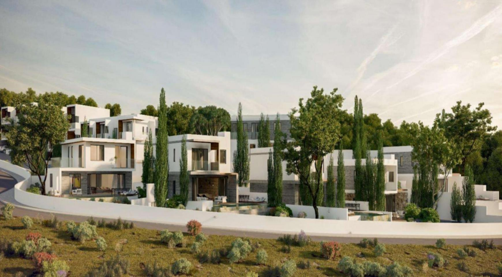 Luxurious 3 Bedroom Villa in a New Complex in Agios Tychonas Area - 8