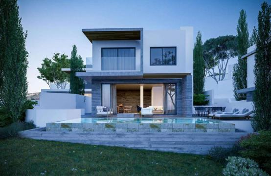 Luxurious 3 Bedroom Villa in a New Complex in Agios Tychonas Area