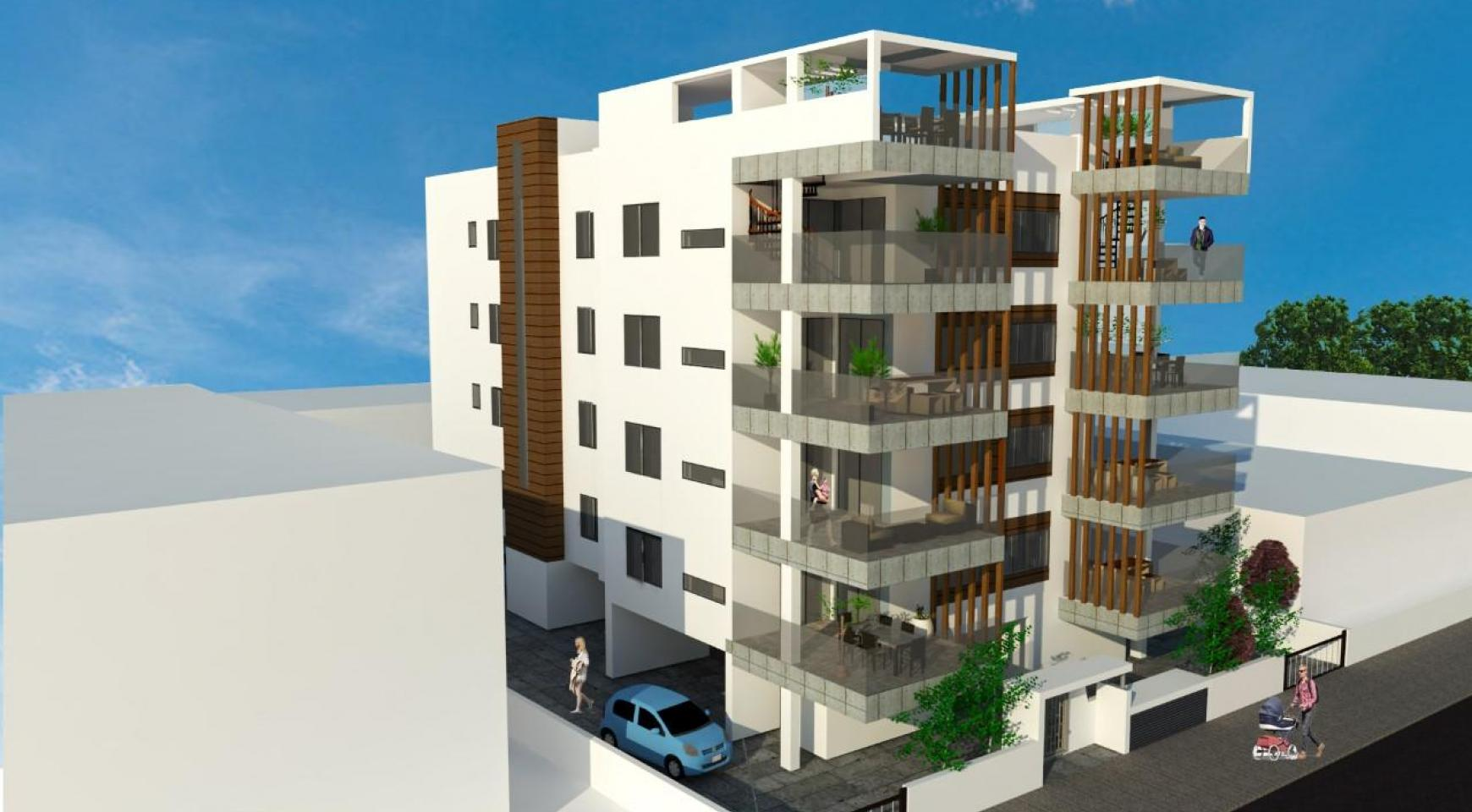 Αντίγραφο New 2 Bedroom Apartment in a Contemporary Building in the Town Centre - 2