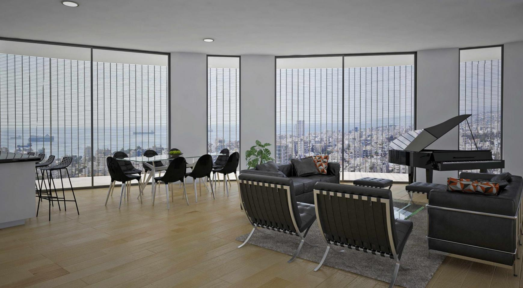 Exclusive Penthouse with Panoramic Sea and City Views - 1