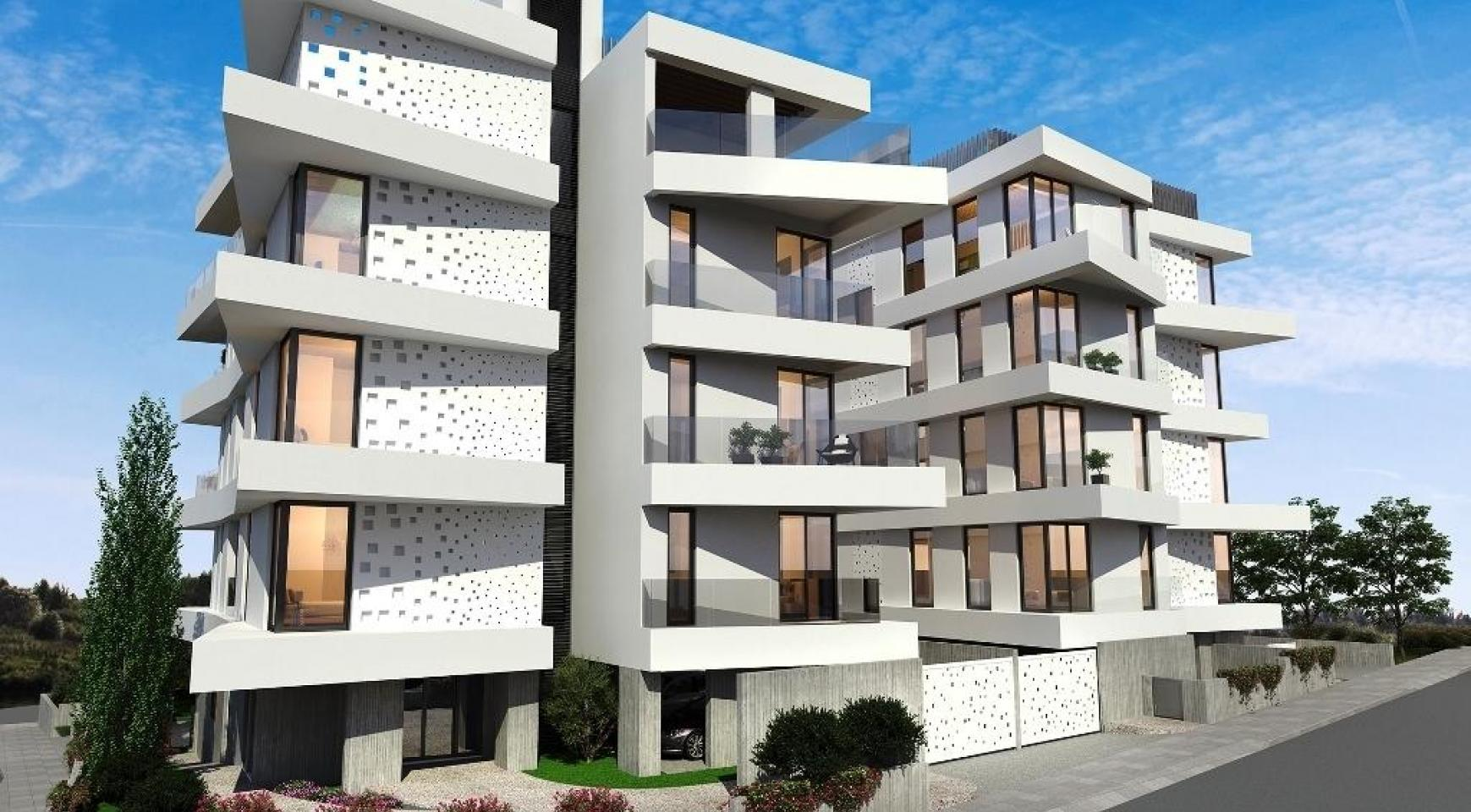New 3 Bedroom Apartment in a Contemporary Building in Germasogeia - 8