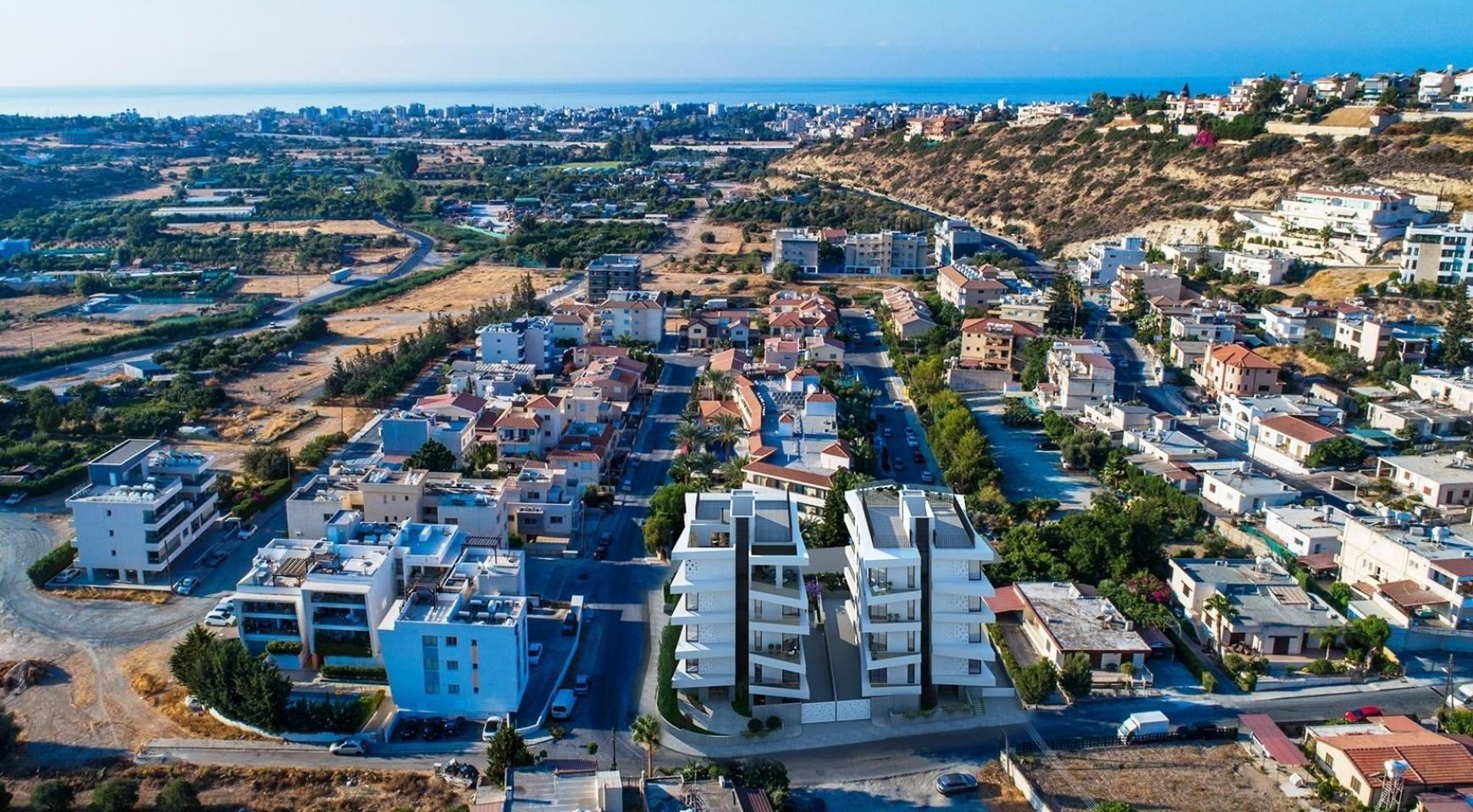 New 3 Bedroom Apartment in a Contemporary Building in Germasogeia - 10