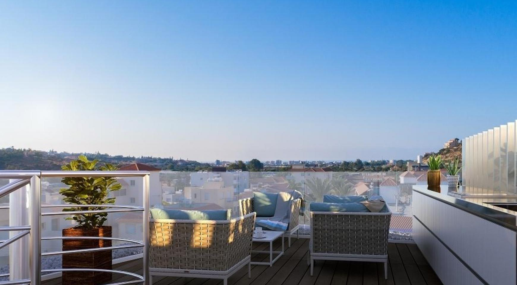 New 3 Bedroom Apartment in a Contemporary Building in Germasogeia - 9