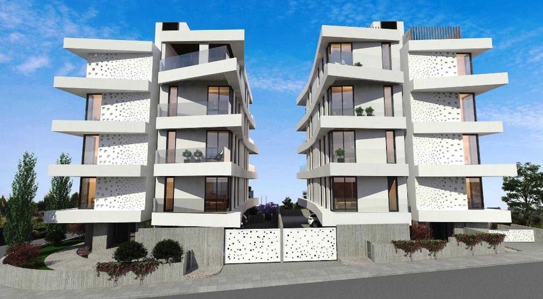 New 3 Bedroom Apartment in a Contemporary Building in Germasogeia - 5