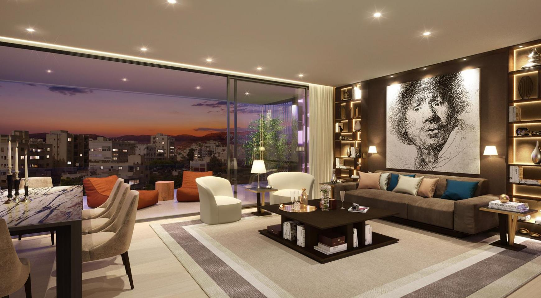New 3 Bedroom Apartment with a Private Roof Garden in the City Centre - 2