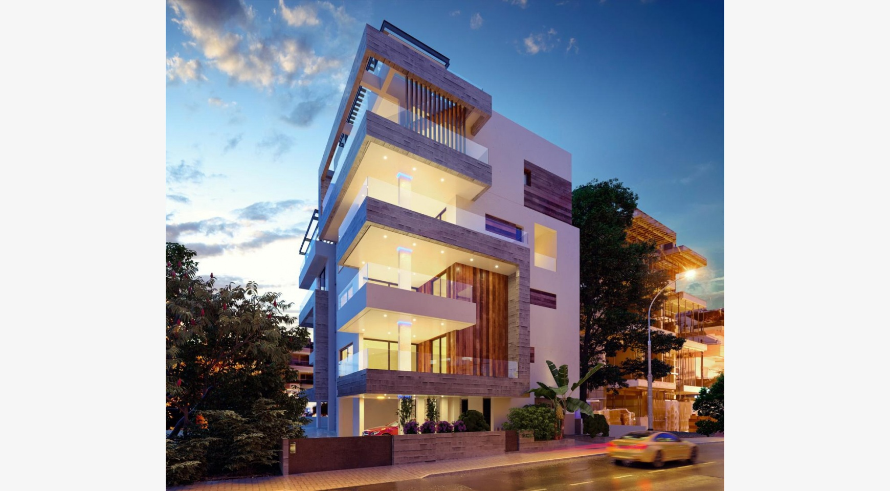 3 Bedroom Penthouse with a Private Pool in a Contemporary Building near the Sea - 1