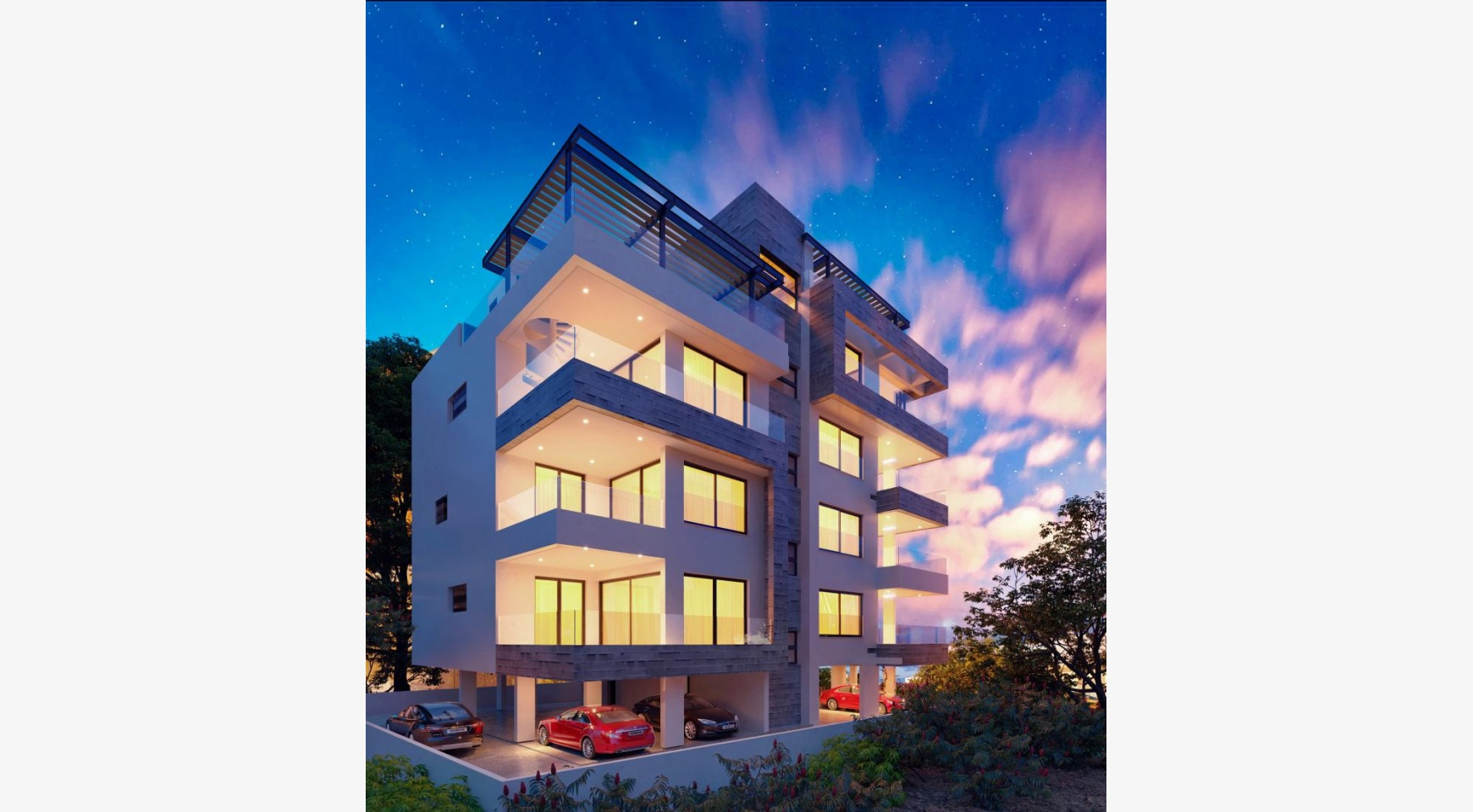 3 Bedroom Penthouse with a Private Pool in a Contemporary Building near the Sea - 3