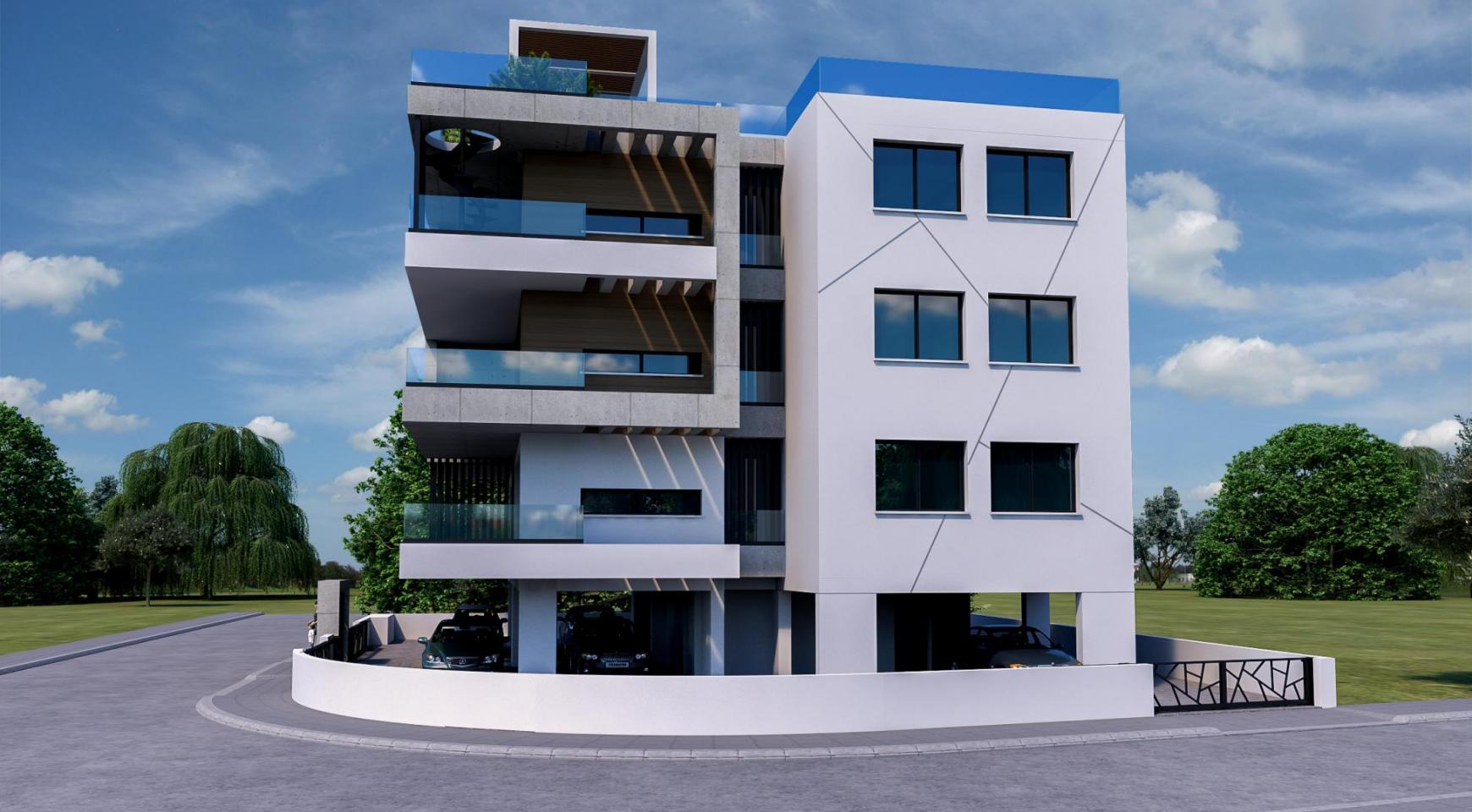 Modern Residential Building of 6 Apartments in Zakaki Area - 5
