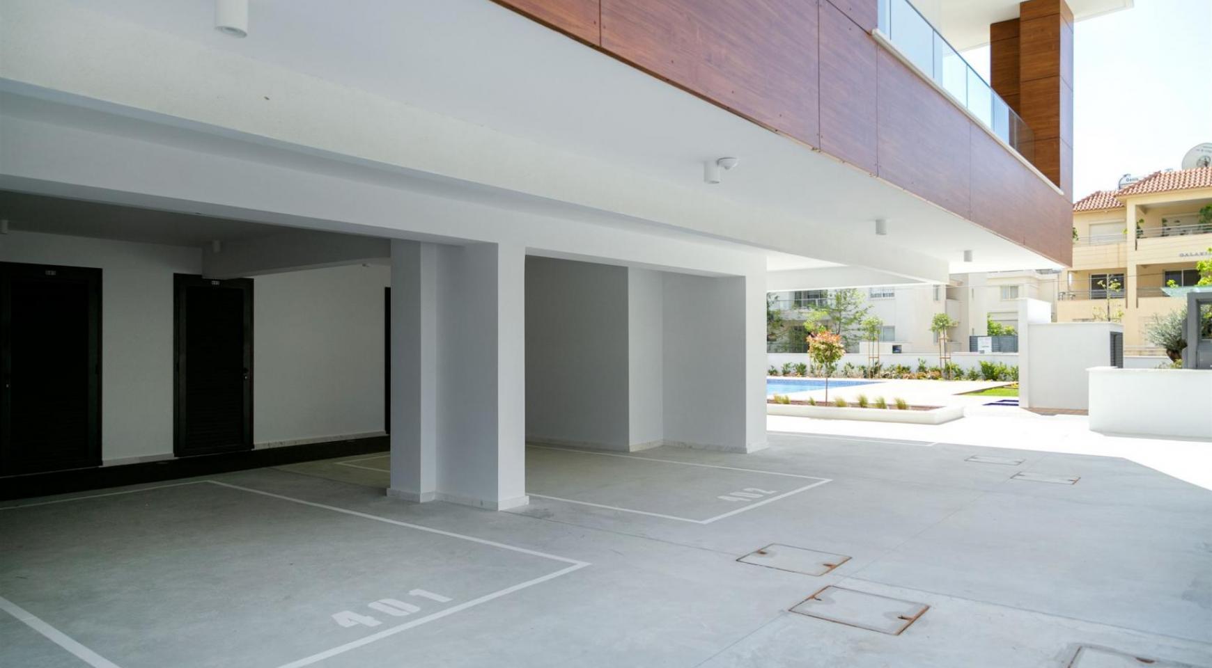 Malibu Residence. Contemporary 2 Bedroom Apartment 201 in Potamos Germasogeia - 13