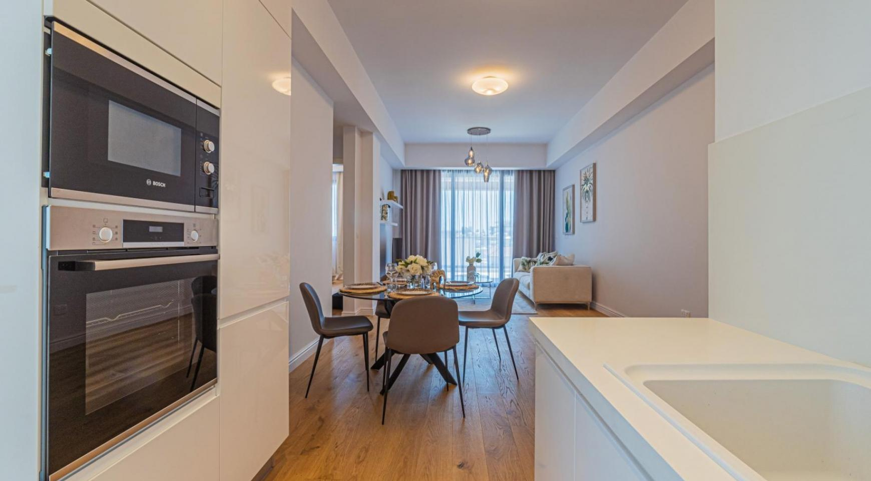Parkside Residence, Apt. 202. 3 Bedroom Apartment within a New Complex in the Tourist Area - 19