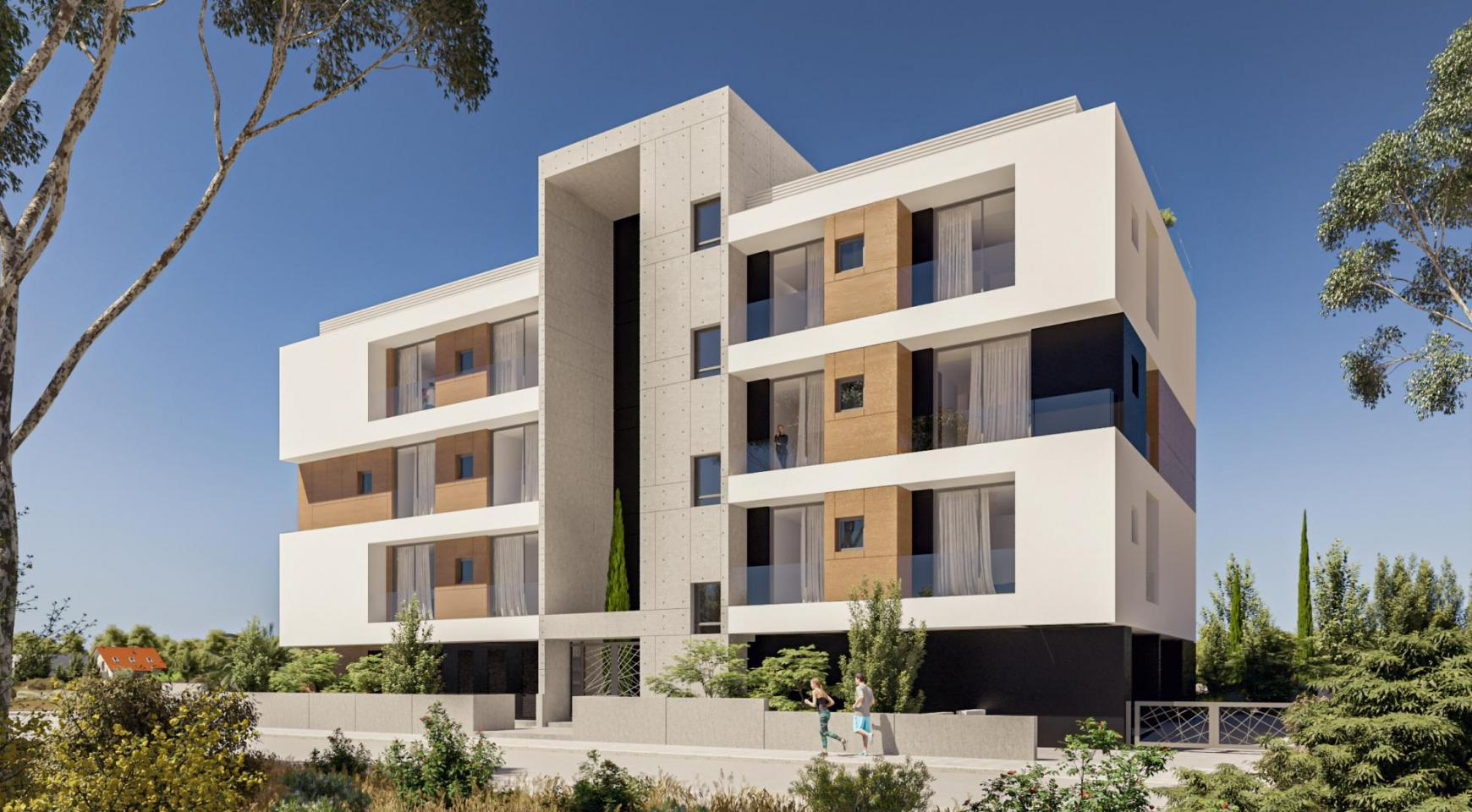 Parkside Residence. Spacious 3 Bedroom Apartment 202 in the Tourist Area  - 4