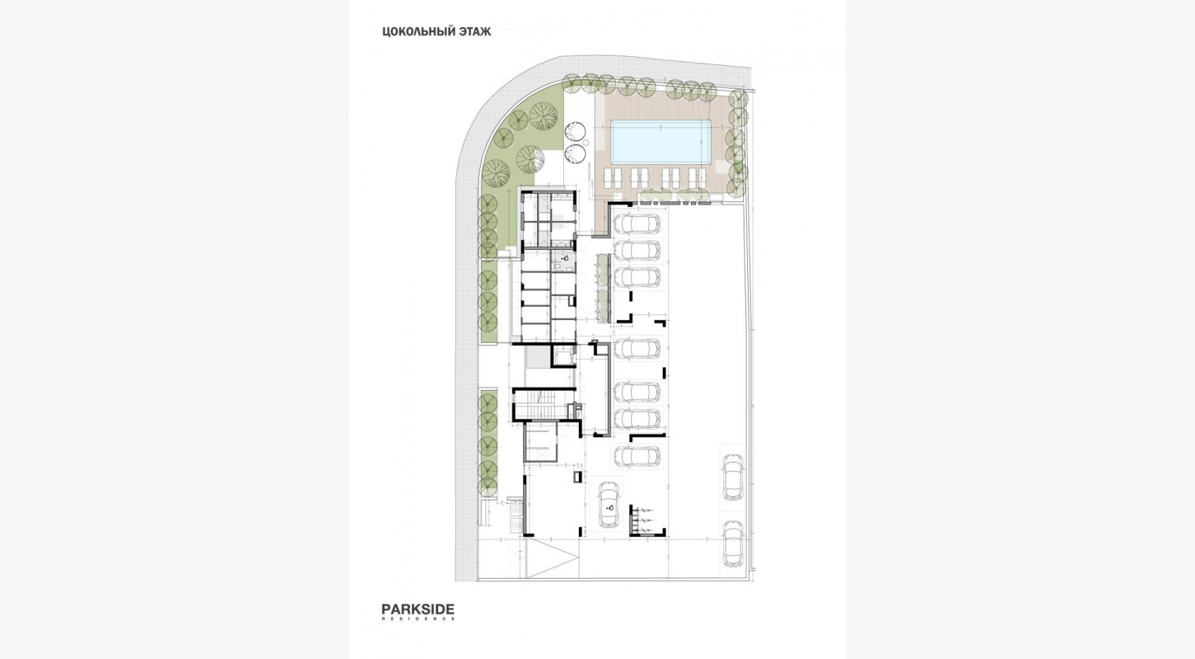 Parkside Residence. Spacious 3 Bedroom Apartment 202 in the Tourist Area  - 19
