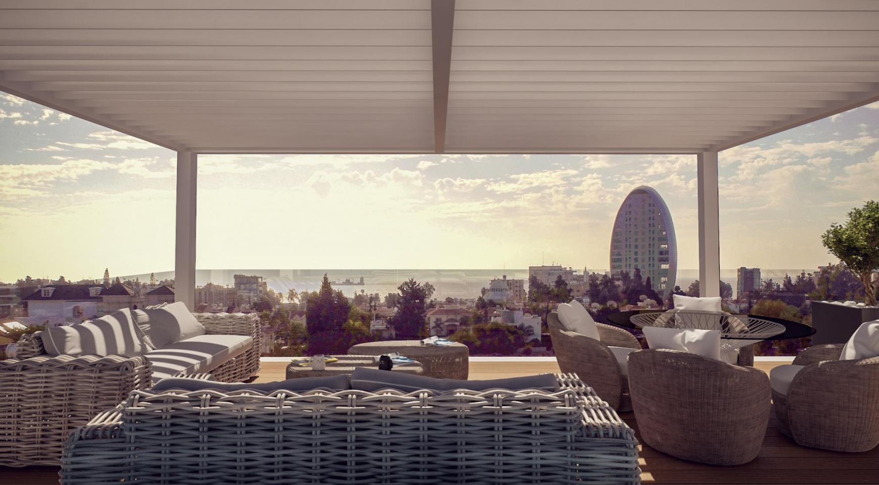 Parkside Residence. Spacious 4 Bedroom Penthouse 302 in the Tourist Area - 7