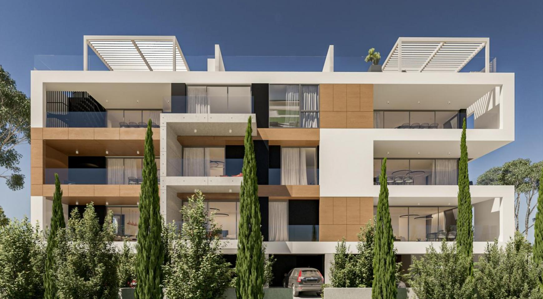 Parkside Residence. Spacious 4 Bedroom Penthouse 302 in the Tourist Area - 2