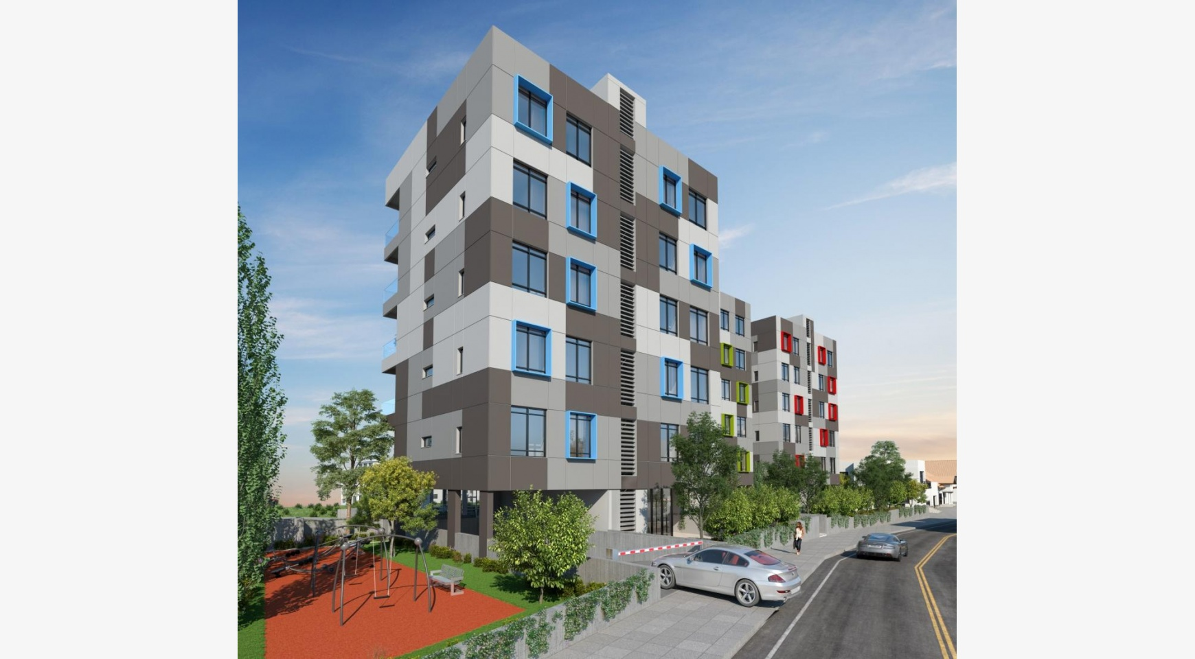 Urban City Residences, Apt. A 302. 2 Bedroom Apartment within a New Complex in the City Centre - 35